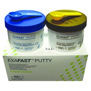 Exafast putty 2x500 gram