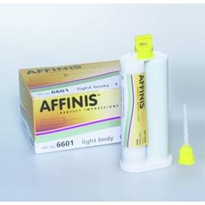 Affinis light body fast 2x50 ml + 12 bl.spisser