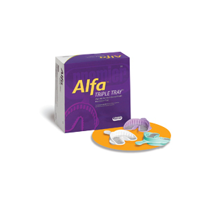 Alfa Triple Tray assortert 24 stk