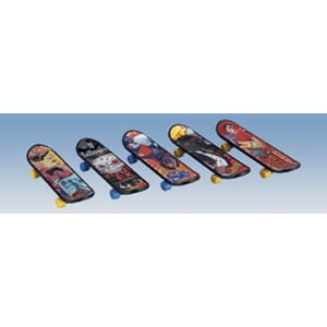 Miratoi leker nr. 17 Fingerskateboards Mix 50 stk