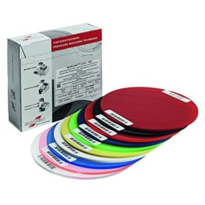 Bioplast Color 1,5 mm 125 mm rund assortert 10 stk