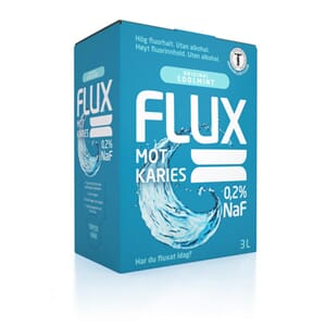 Flux Original munnskyll 0,2 % fluor 3 l bag-in-box