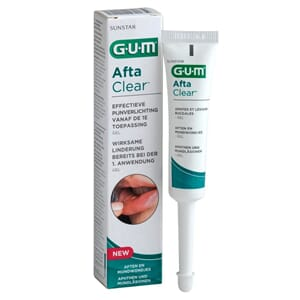 GUM AftaClear Gel 6 x 10 ml
