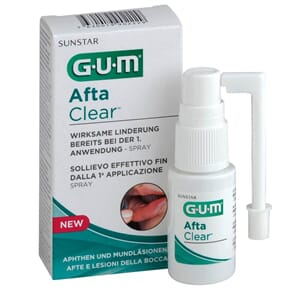 GUM AftaClear Spray  6 x 15 ml