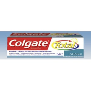 Colgate Total Original tannkrem 12 x 75 ml