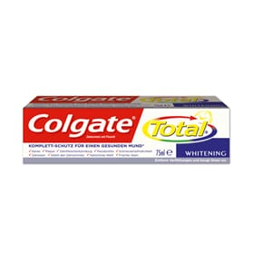 Colgate Total Whitening tannkrem 12 x 75 ml