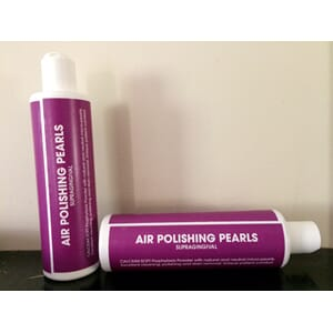 Air Polishing Pearls kalsiumperler 250 g flaske