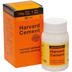 Harvard Sement normal herdende pulver 1 hvit 100 g
